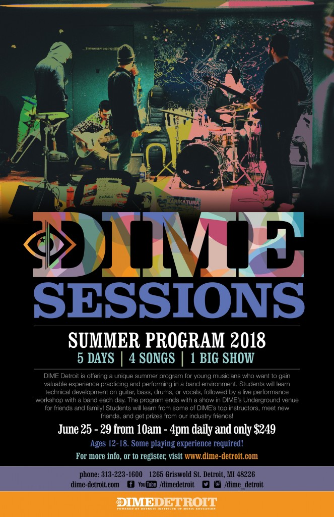 DIME SESSIONS 2018